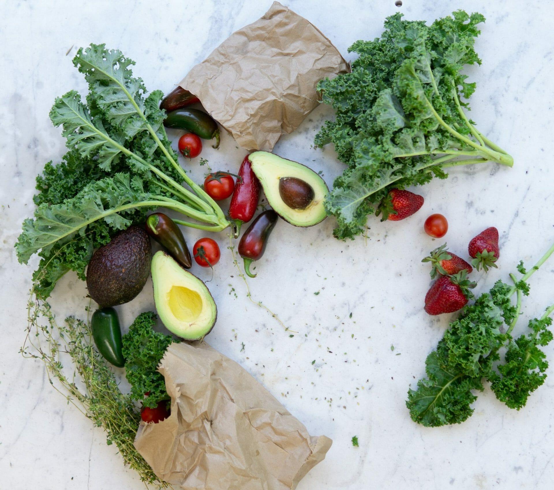 Les fruits et légumes de saison recommandés par Madame La Présidente l'été pour avoir de beaux cheveux