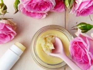 Beurre de karité et fleurs