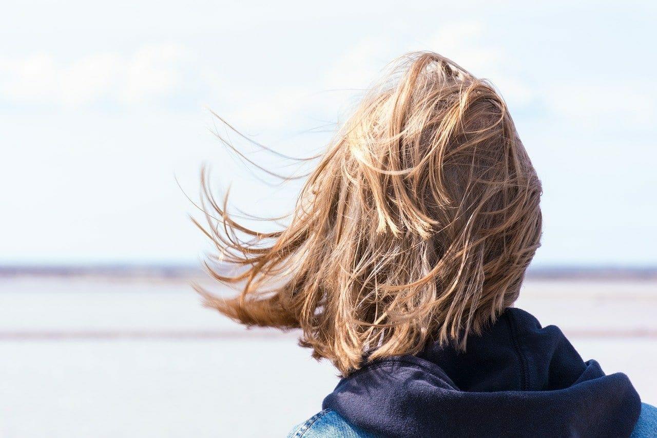 cheveux emmêlés secs